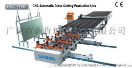 全自动玻璃切割生产线  CNC玻璃切割机机