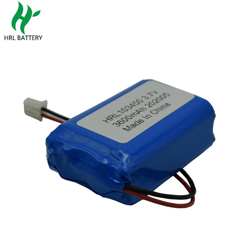 103450 3600mah3.7V空氣淨化器電池