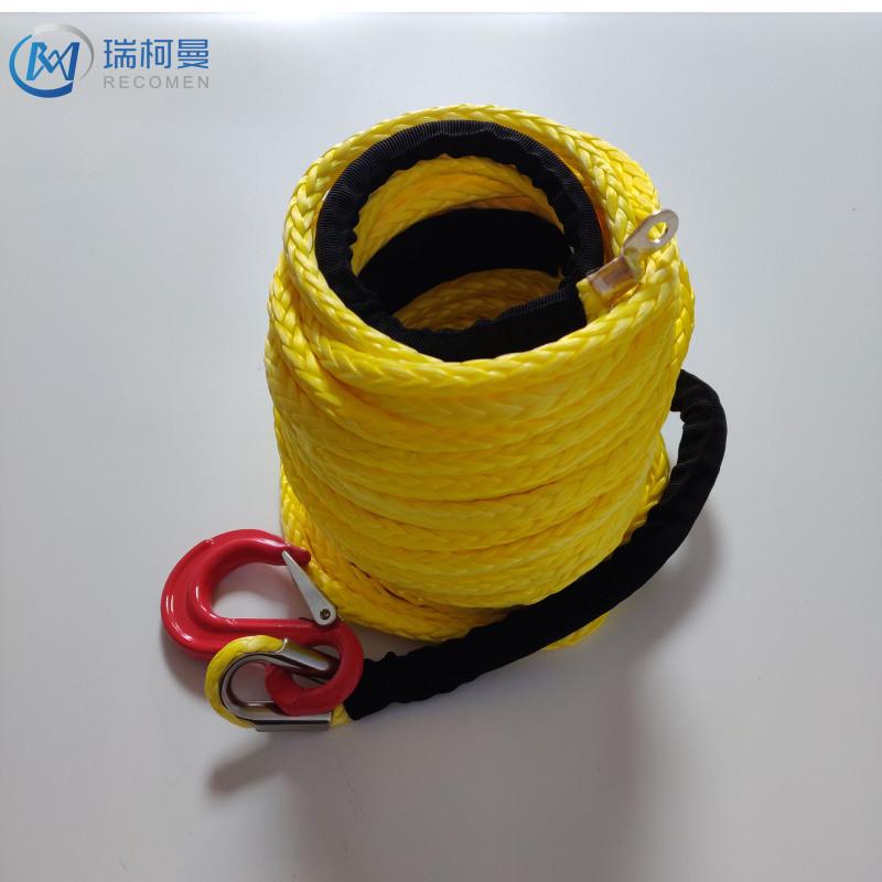 瑞柯曼8mm高分子聚乙烯繩,汽車絞盤繩