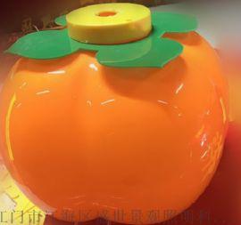 甜橙形状的塑料灯笼接受非标定制按客户要求生产