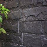 供應天然蘑菇石黑鏽色庭院外牆磚文化石花園院牆文化磚