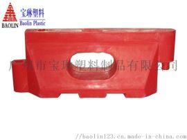 单孔水马 交通防撞单孔水马 隔离墩防撞桶 塑料水马