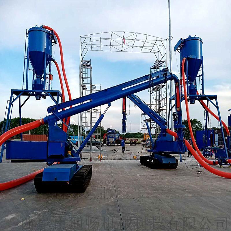 建材粉料气力输送机 矿粉负压抽送设备 吸灰机