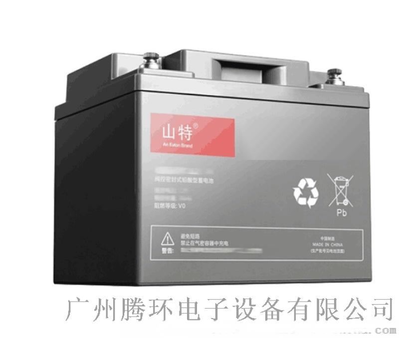山特蓄電池城堡C12-65AH免維護密閉鉛酸蓄電池