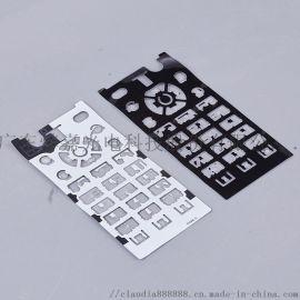 定制硅胶和PET二次成型,IP67级手机防水按键