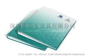 定制4孔D型活页夹 纸质活页文件夹定做 资料夹印刷