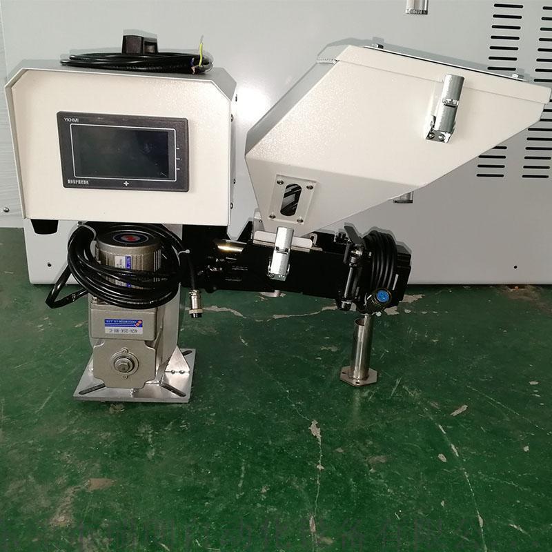 自動化計量色母機色母螺桿計量注塑機專配母粒機