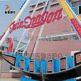 24人海盜船大型遊樂設備 戶外景區遊樂設備