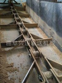 水平刮板机 fu板链式输送机 六九重工 双板链爬坡