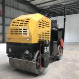 陕西柴油振动手扶式双轮压路机 农用小型座驾式压路机
