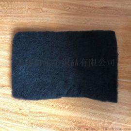 耐高温过滤棉黑色预氧丝布