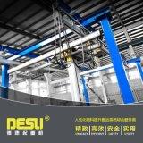 鋁合金kbk導軌起重機 鋁製型材kbk工位行車