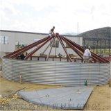 供应大型钢板仓的应用及仓储功能介绍