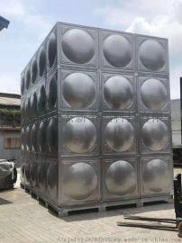 商丘不锈钢水箱厂家直销 方形保温水箱 消防水箱定制