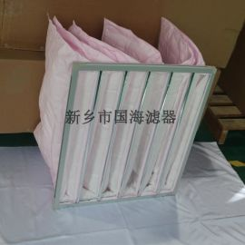 大风量多袋式中效板框空气过滤器
