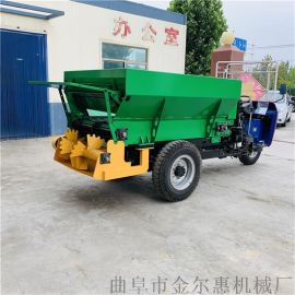 拖拉机牵引式施肥机/大型农用有机肥撒粪车