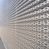 門頭裝飾衝孔網-奧迪外牆裝飾網精緻亮眼