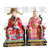 河南城隍爺佛像 寺廟佛像 城隍奶奶塑像
