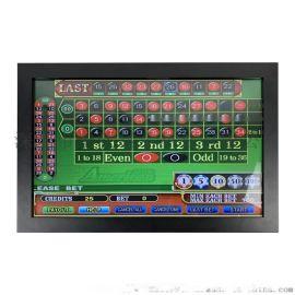 22寸红外触摸显示器3M游戏机串口触摸hdmi