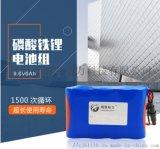 9.6V 6ah磷酸鐵鋰電池一體化路燈