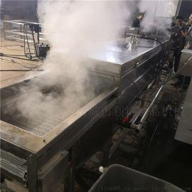 利特牌螃蟹蒸煮线,连续式螃蟹蒸煮机