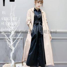 杭州品牌折扣女装嘉贝逸飞套头针织衫工厂直供货源