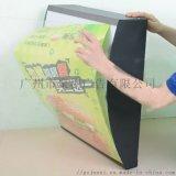 弧形汉堡吊挂点餐灯箱长方形餐饮灯箱