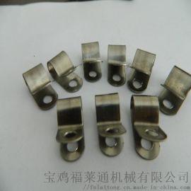 304不锈钢金属软管管夹 汽车行业束线管夹