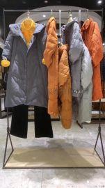 上海品牌女装尾货 肯帕20冬羽绒服品牌折扣