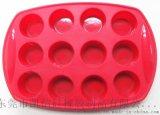 硅胶冰格圆形方形格制冰制果冻硅胶模具冰格盒