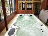重庆酒店无边际泳池-恒温水疗-空气能加热