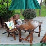 創意園林桌椅,實木桌椅,藤編桌椅