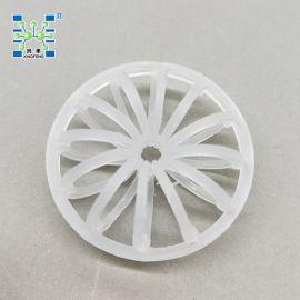 兴丰DN145mm PP科斯特塑料梅花环 除雾层花环填料
