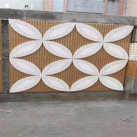 5.0mm双曲铝单板幕墙 外墙造型扭曲金属厂家