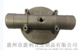 304不锈钢管道阀盖防腐蚀惠州精密铸造厂家