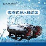 广西应急排涝600QZ-110KW雪橇泵