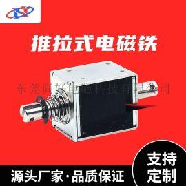 **电磁铁厂家框架电磁铁 超长行程推拉式电磁铁