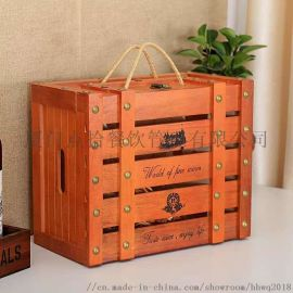 福建哪里有做木质红**盒,定制葡萄**木箱的加工厂家