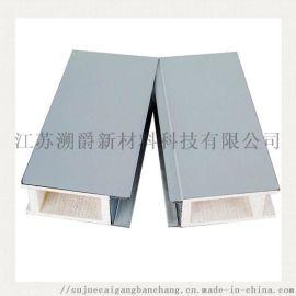 中空玻镁岩棉彩钢板 无尘车间净化板 保温手工净化板