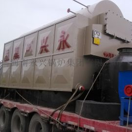 河南永兴锅炉集团供应1.5吨卧式生物质常压热水锅炉