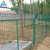 道路隔離框架護欄網/綠色帶邊框護欄網