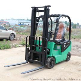 捷克 1吨四轮液压搬运车 小型电动装卸叉车