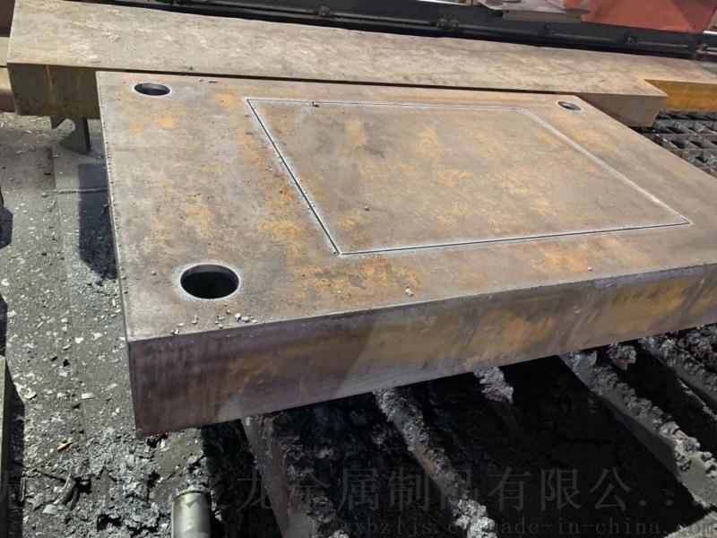 高强度钢板Q690零割下料特厚板材切割