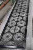 新款鐳射黑鈦拉絲不鏽鋼屏風別墅家用隔斷設定做
