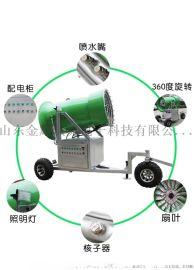 自动预热造雪机多排喷嘴国产人工造雪机 自动造雪设备