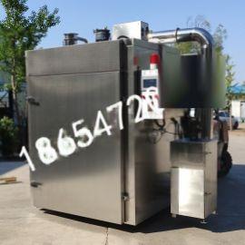 厂家直销低耗能多功能自动蒸熏炉-全自动烟熏炉报价单