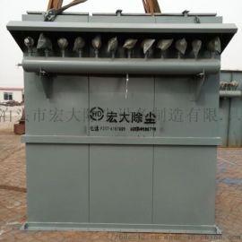 反吹扁袋除尘器 单机脉冲布袋除尘设备 脱硫除尘设备