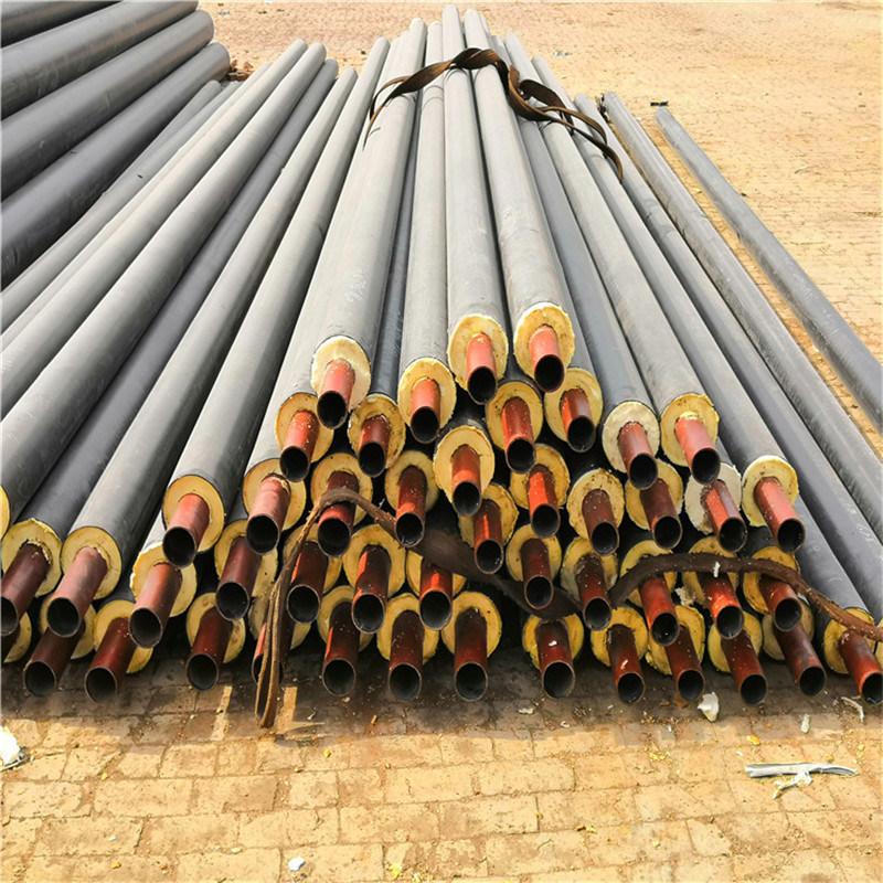 梧州 鑫龙日升 城镇供热直埋热水管道DN100/108聚氨酯直埋发泡管