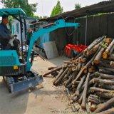 港口专用 微型挖掘机价格 六九重工 小型林场抓木