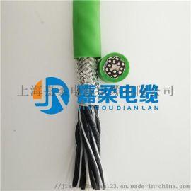 编码器拖链电缆-高柔耐弯曲屏蔽线